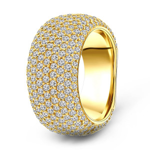 Gold plated ring 01.183Z.35