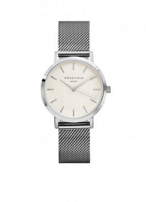 The Tribeca White-Silver