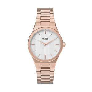 Vigoureux 33 H-Link, Rose Gold, Snow White/Rose Gold