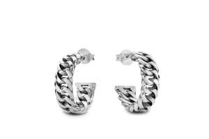 Chain Earring Silver