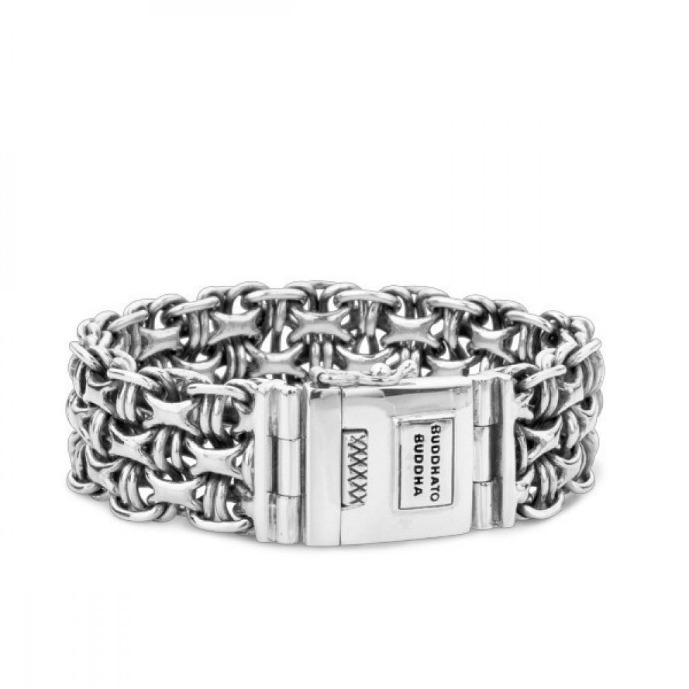Zilveren armband Bawon 061