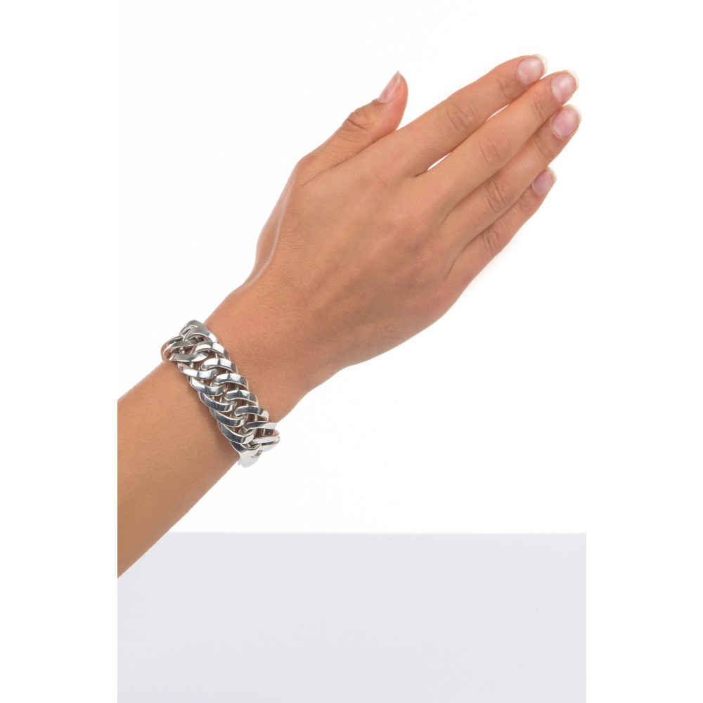 Zilveren armband Chain big 080