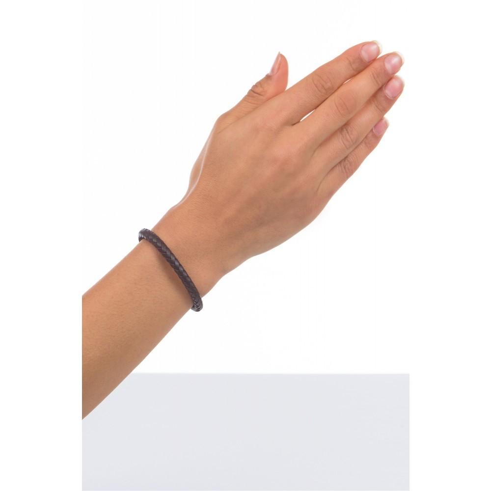 Lerenarmband Maria brown 084BR