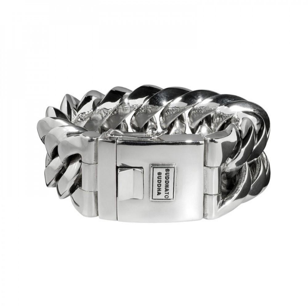 Zilveren armband Chain XL 100