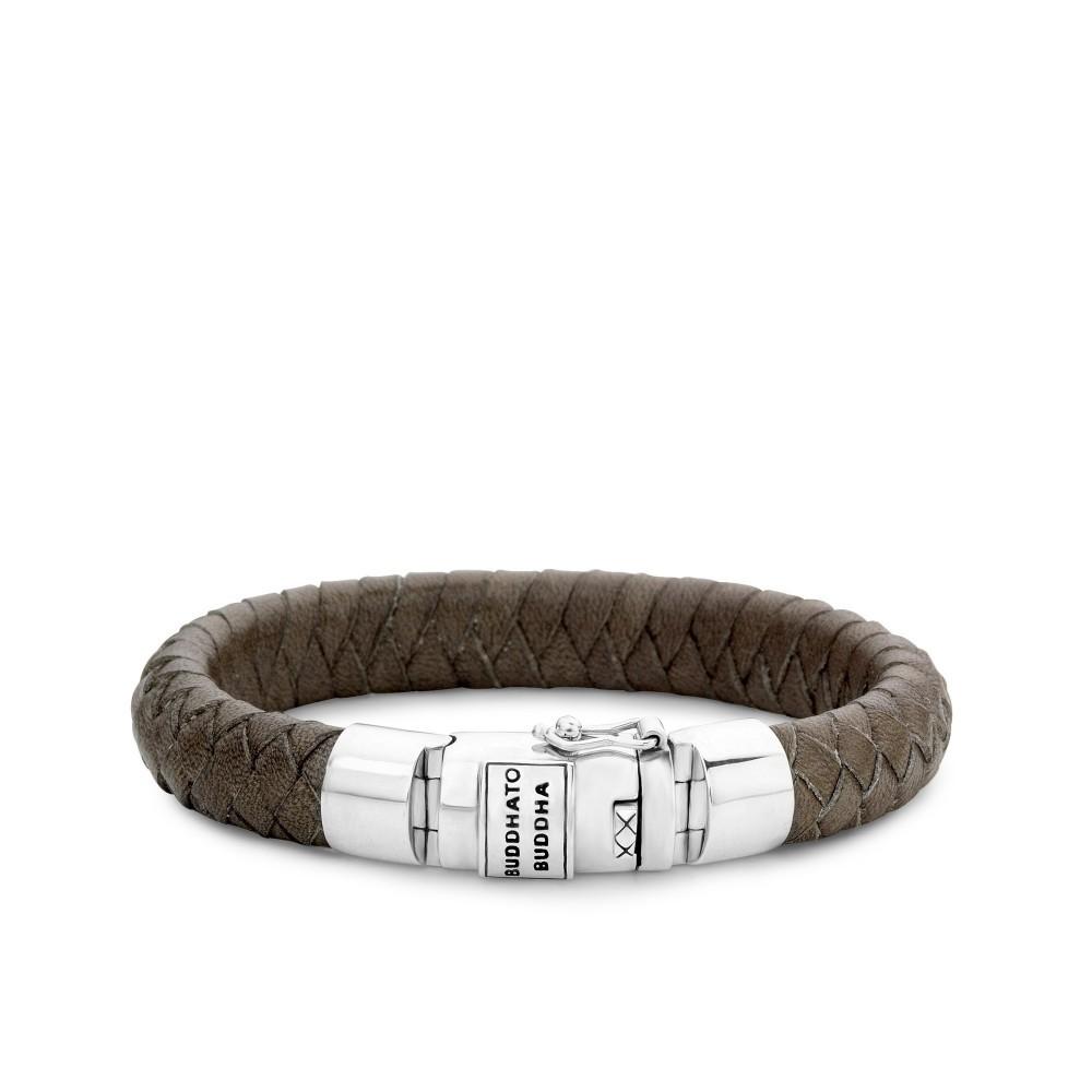 Armband Ben Leather Smoke 544SM