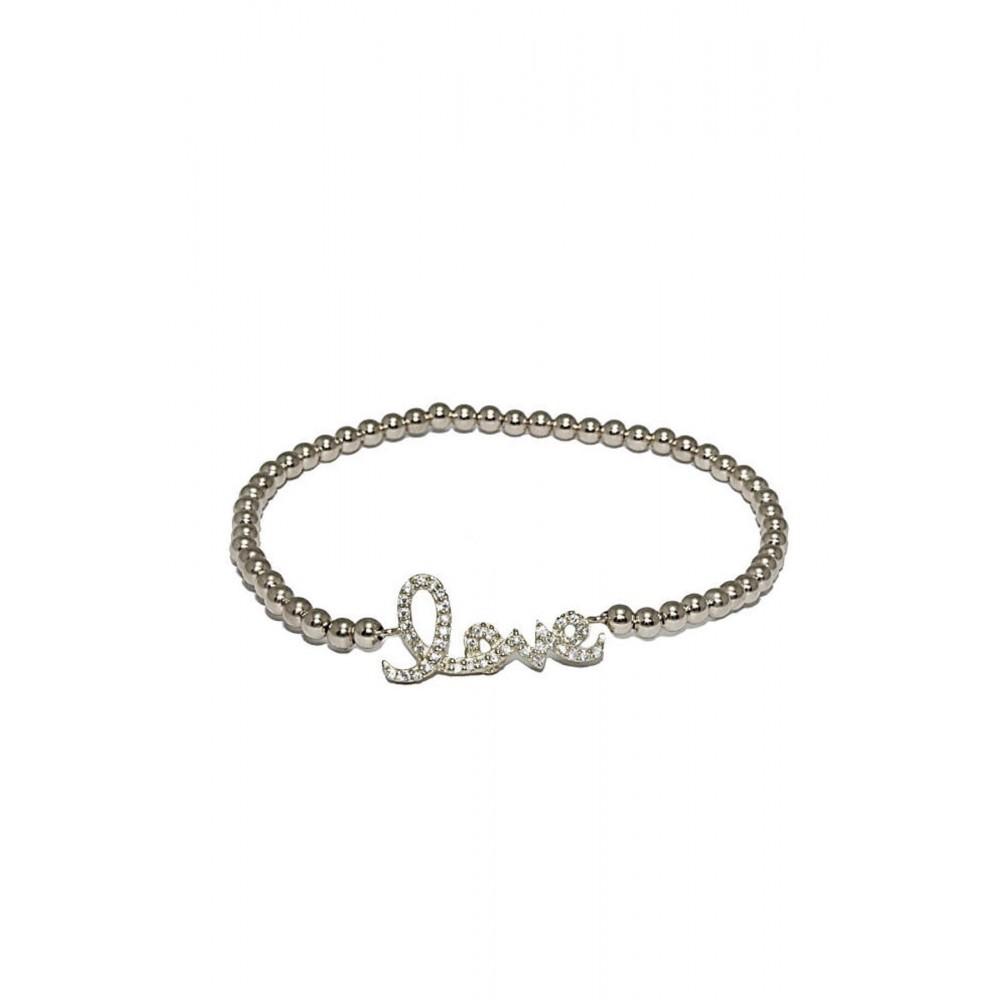 Zilveren armband Indra Love 8047