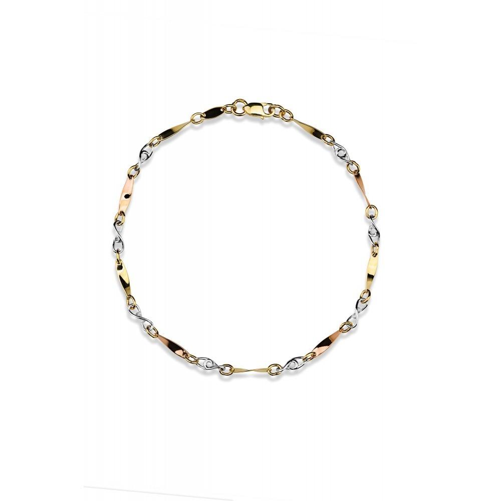 Gouden armband X3JB200939-TC