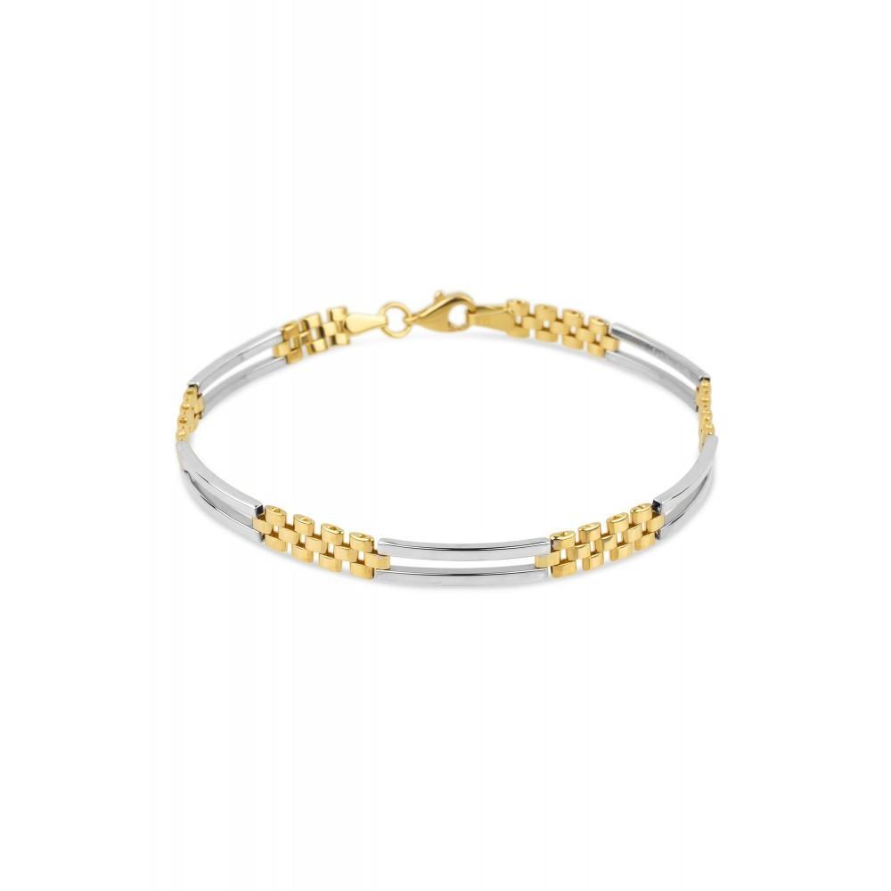 Bicolor gouden armband X3TBB500691SLYW