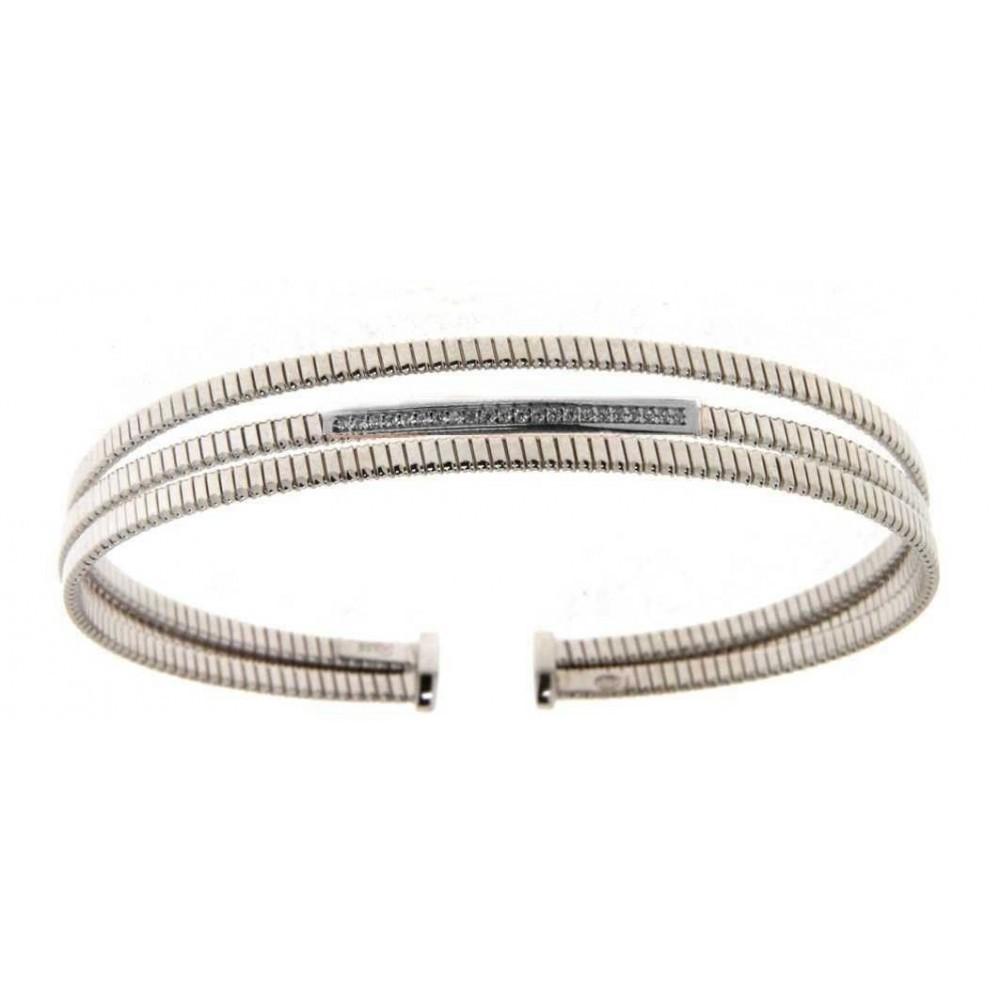 Zilveren dames armband TGP3206R