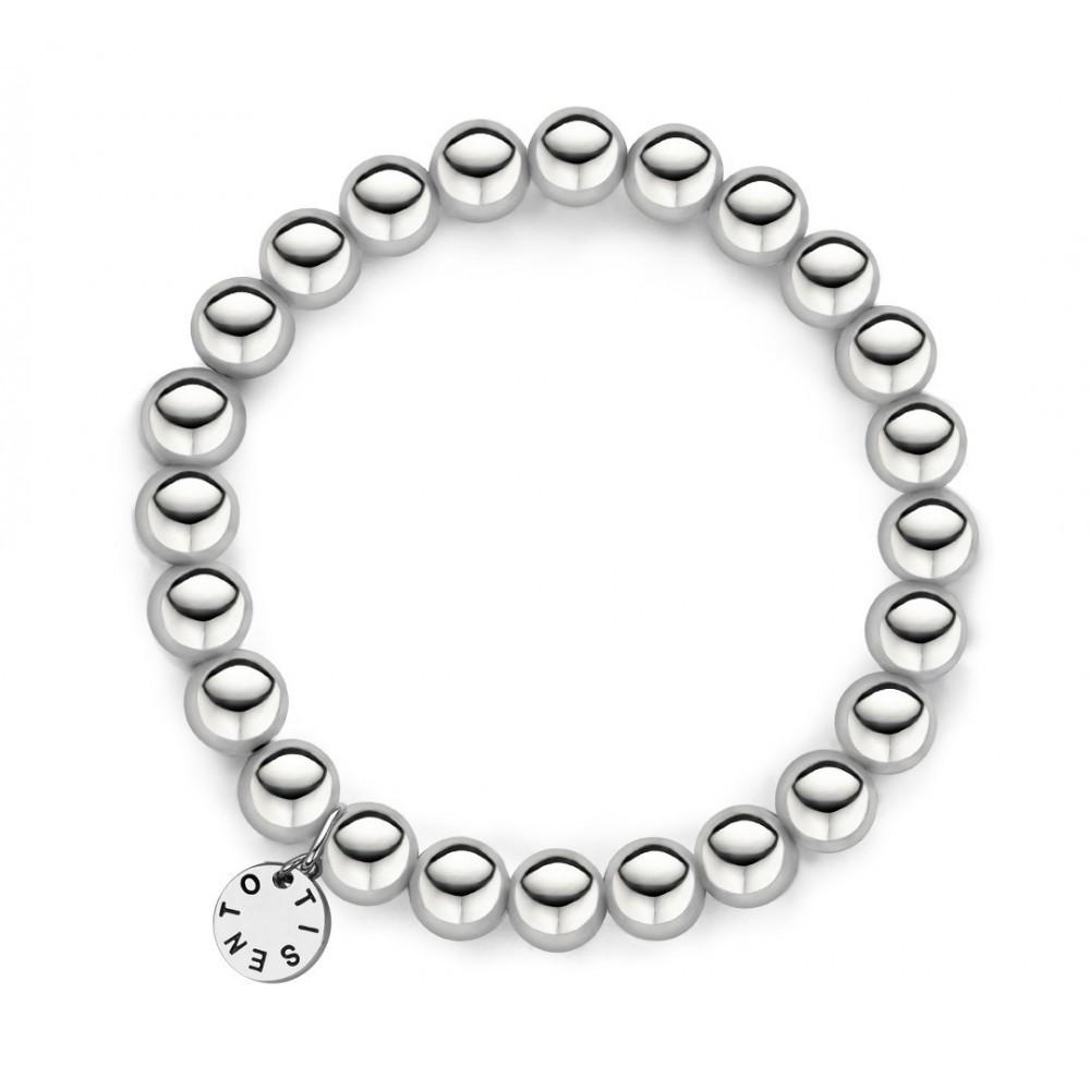 Zilveren elastische armband 2644SI
