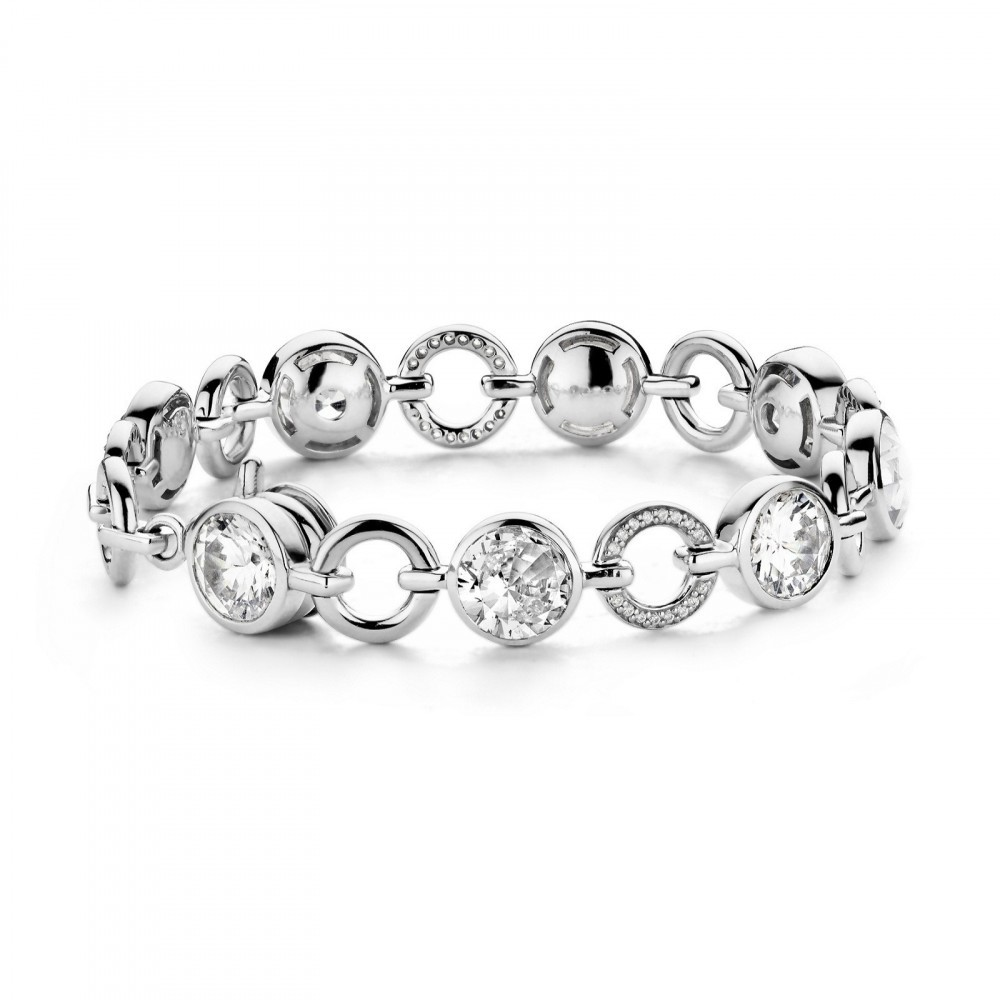 Zilveren armband met zirkonia 2649ZI