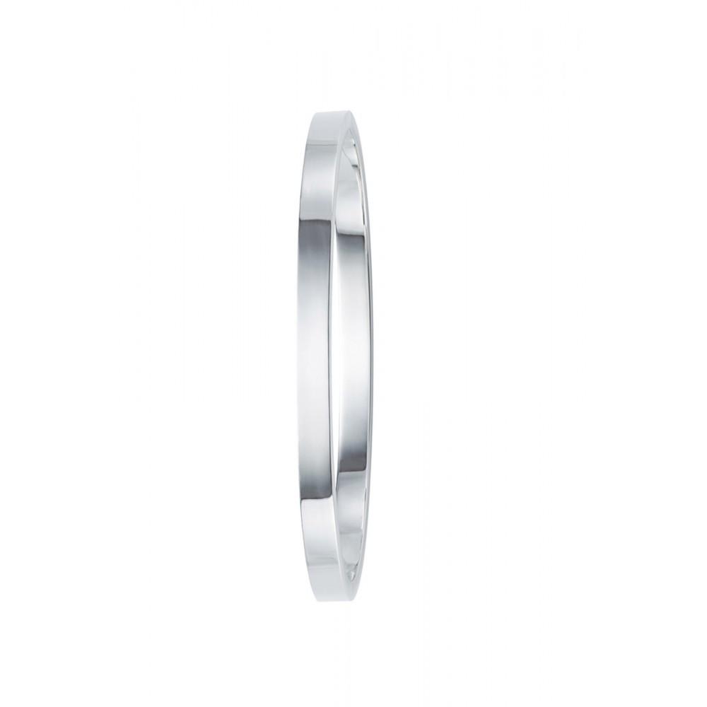 Zilveren Massieve slavenband 5mm 1041158-5MM