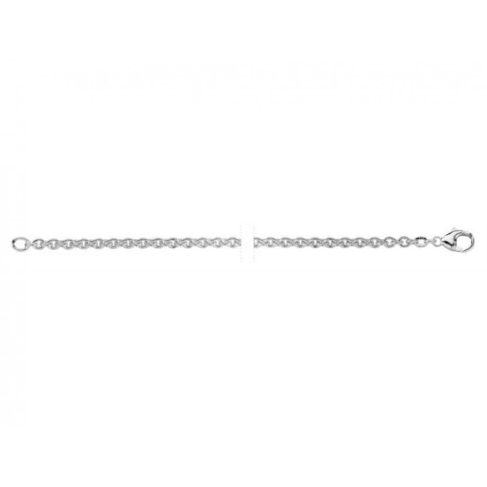 Zilver anker collier 0160.301.50.0