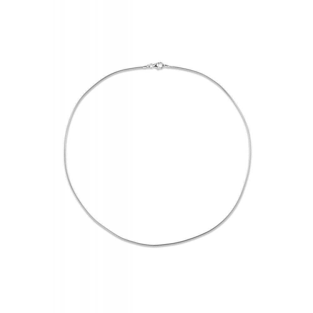 Zilver slang collier 42012.314
