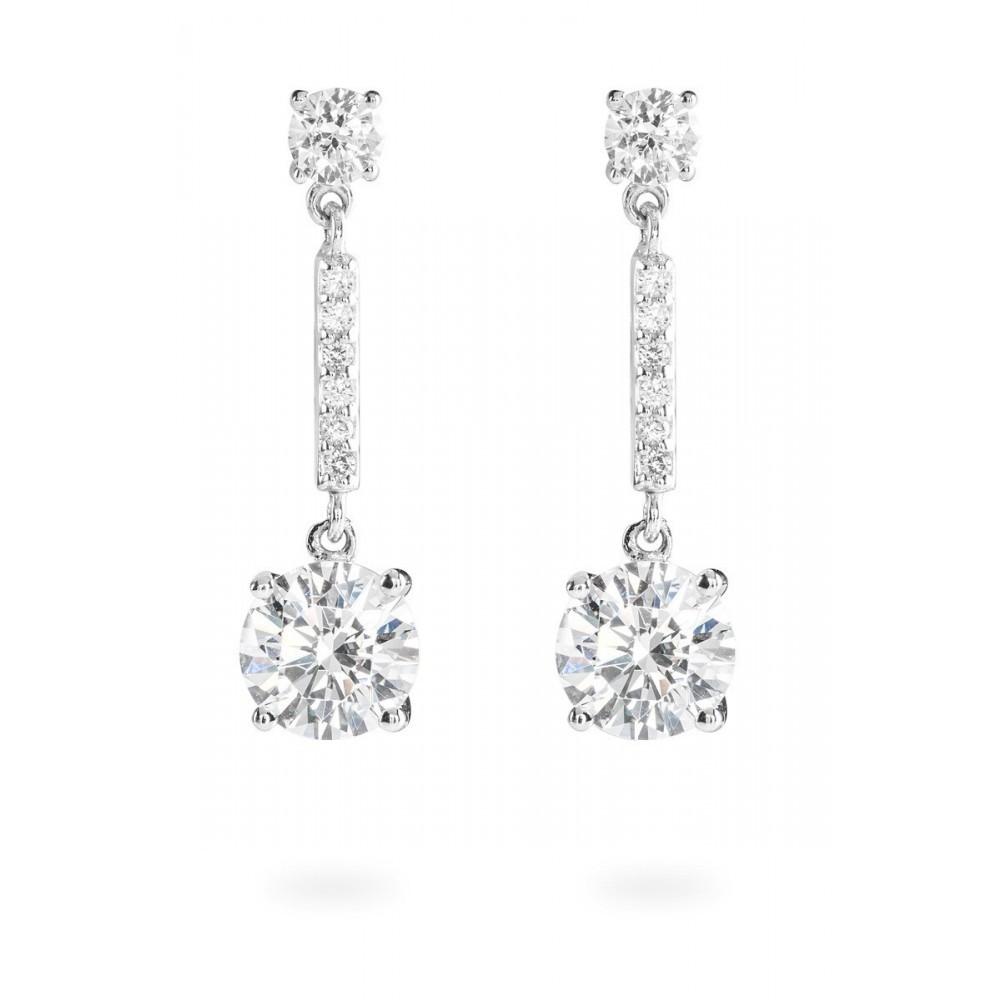 Zilveren oorknoppen Bridal 808.0098.00