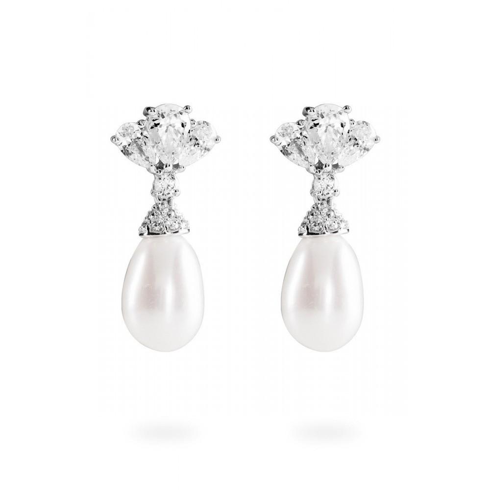 Zilveren oorhangers Bridal 808.0147.00
