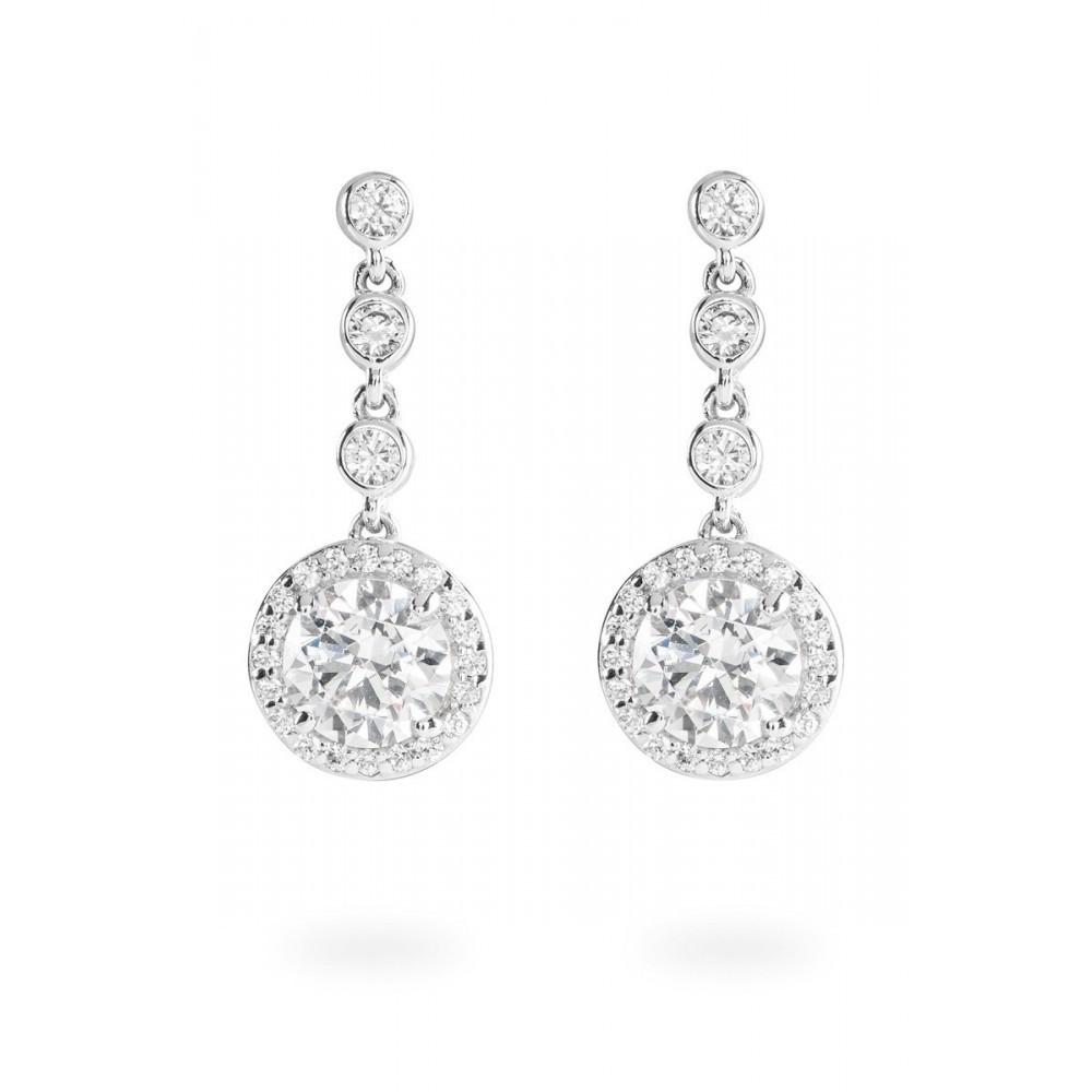 Zilveren oorhangers Bridal 808.0159.00