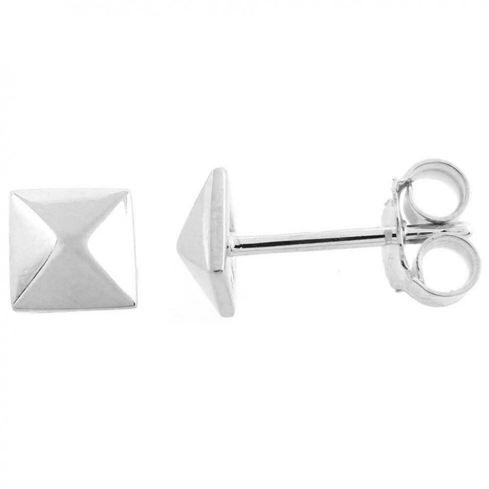 Zilveren dames oorknoppen TBO48825-01