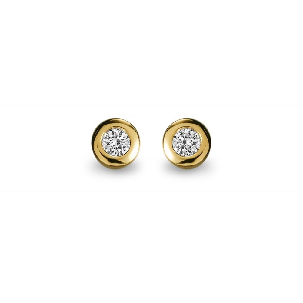 Gouden oorknoppen 0,09crt SOL-Y958-005-G2