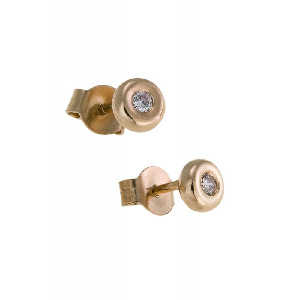 Oorknoppen met diamant SOL-Y104-005-G2