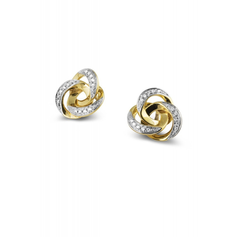 Oorknoppen met diamant E49299A0S