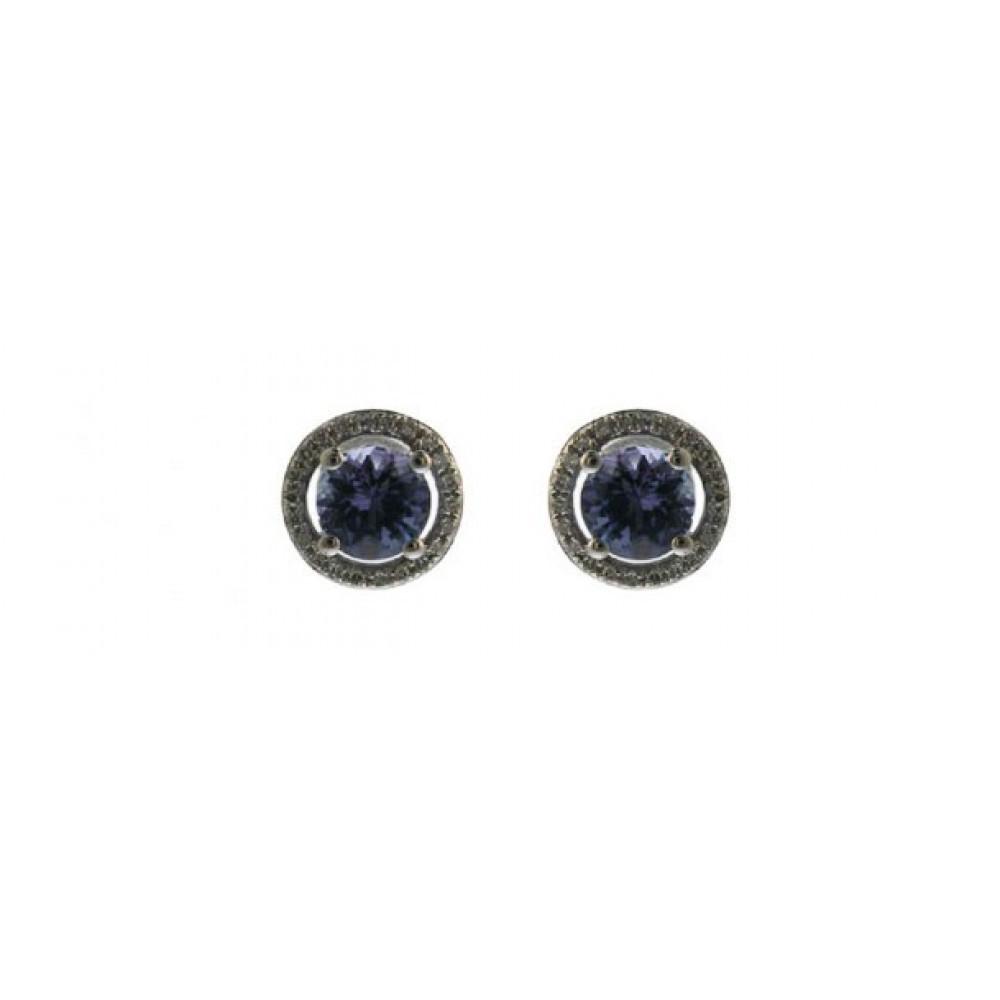 Oorknoppen met diamant E50359A0S