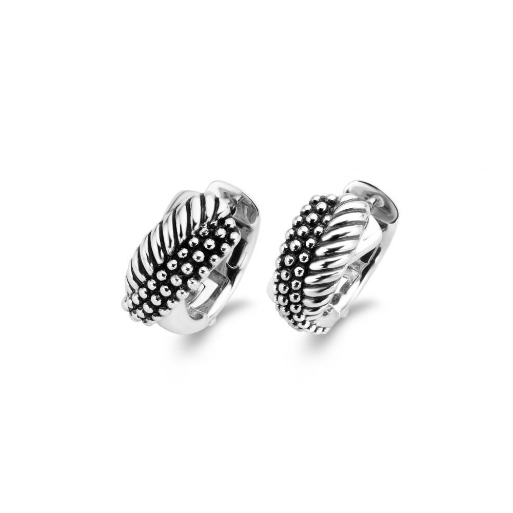 Zilveren creolen 7692SB