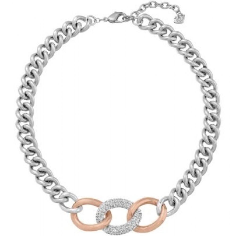 Zilverkleurig collier 5080040