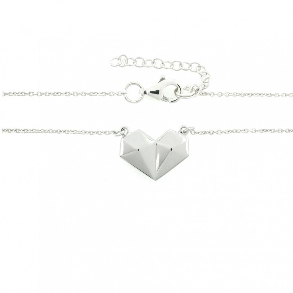 Zilveren dames collier TCS38844-01