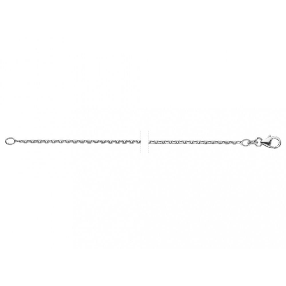 Gediamanteerd anker collier 541054545