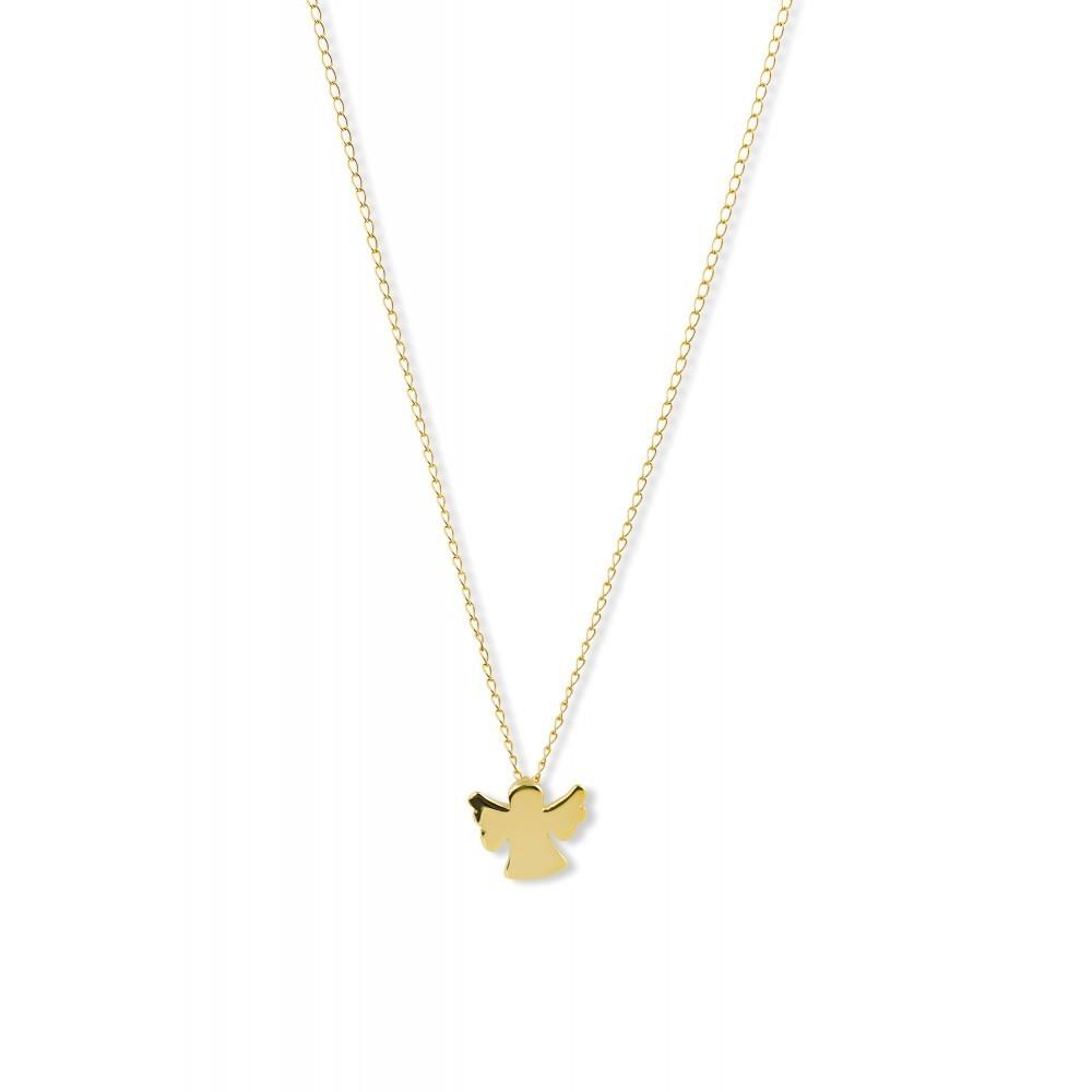 Gouden collier engel CLFCRFR23