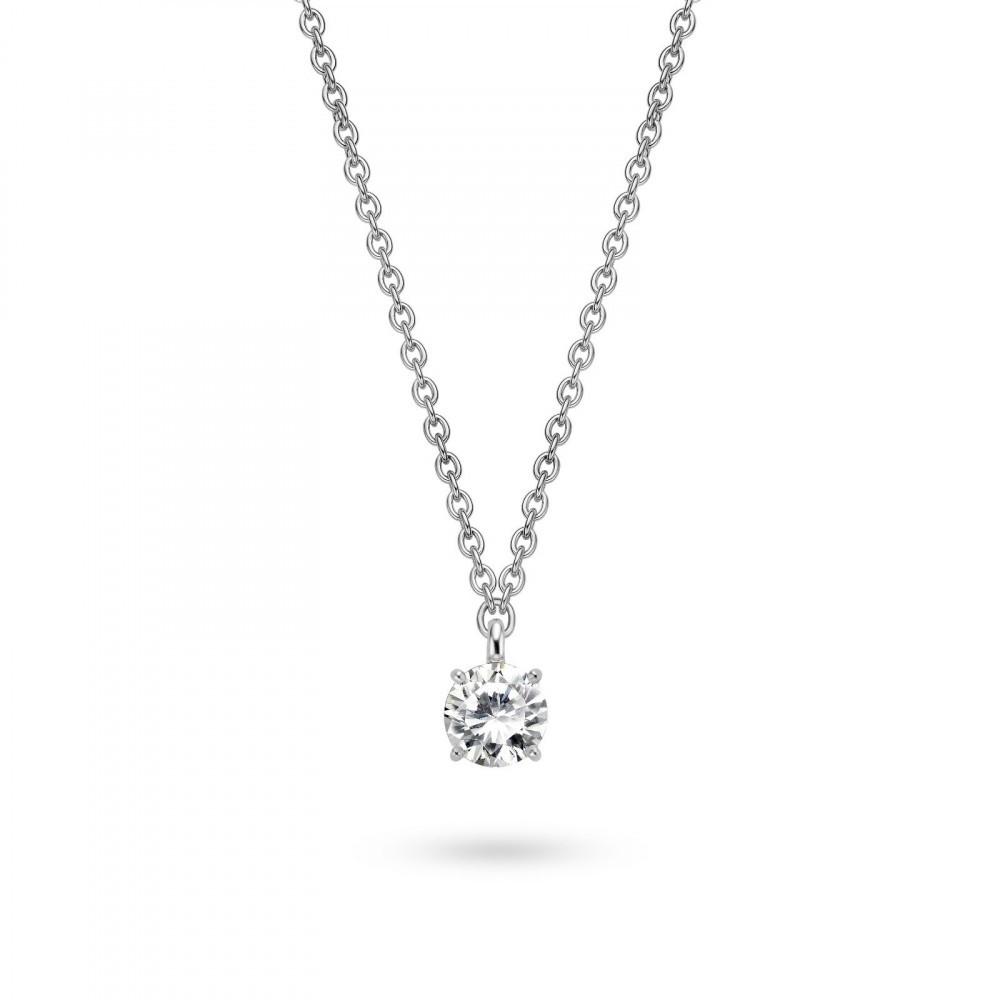 Zilveren collier 40cm 3777ZI