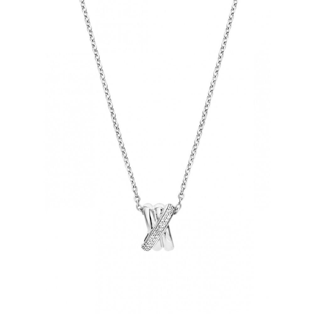 Zilveren collier 3861ZI