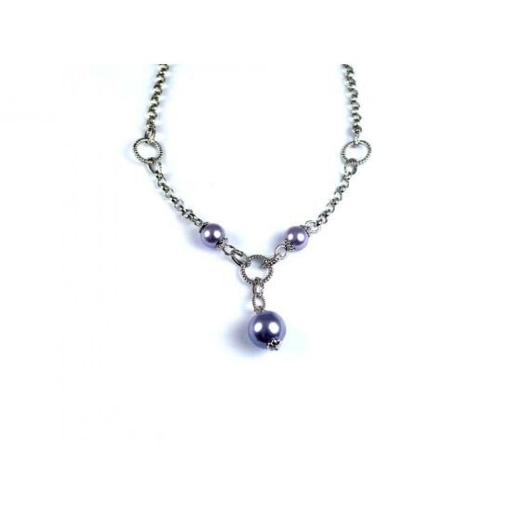 Zilveren dames fantasie collier 621323244