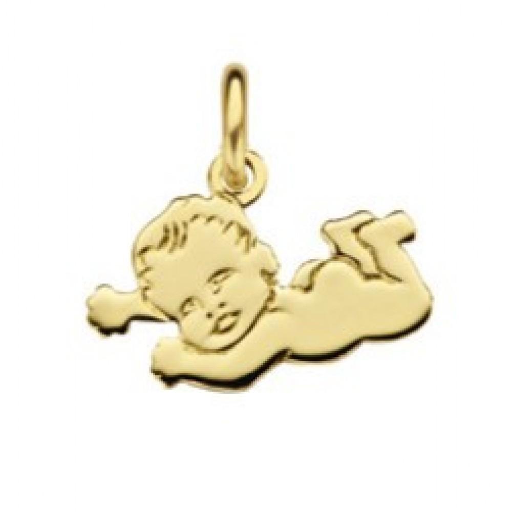 Geelgouden hanger baby 514052015