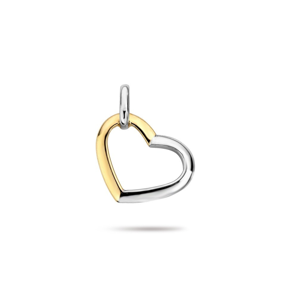 Bicolor hart hanger 193731320002