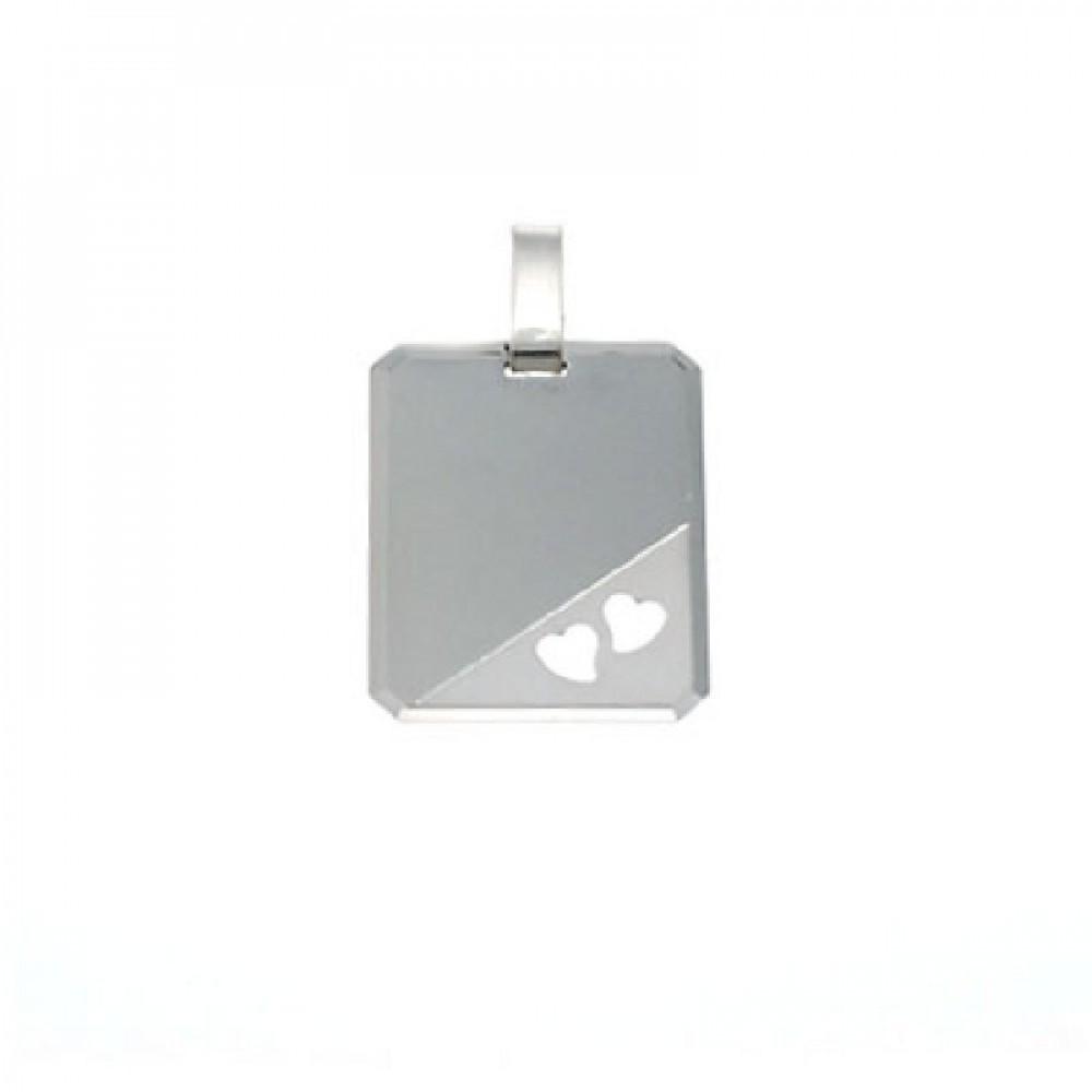 Zilveren graveerplaatje 142007300