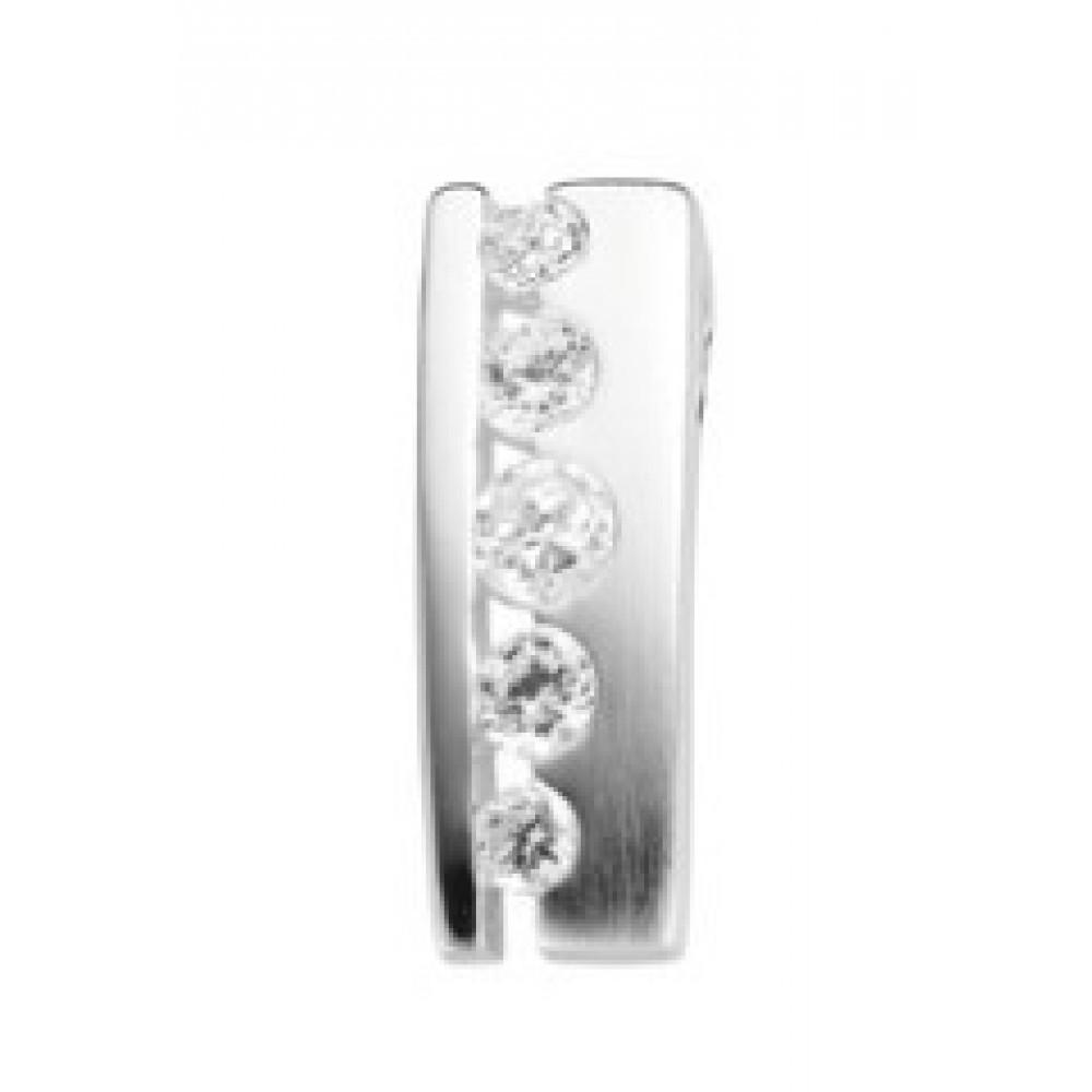 Zilveren hanger met zirkonia 613560004