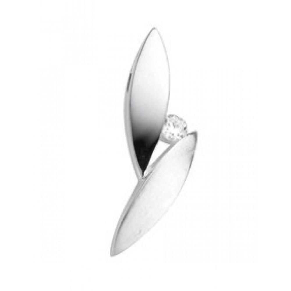 Zilveren dames fantasie hanger 613560006
