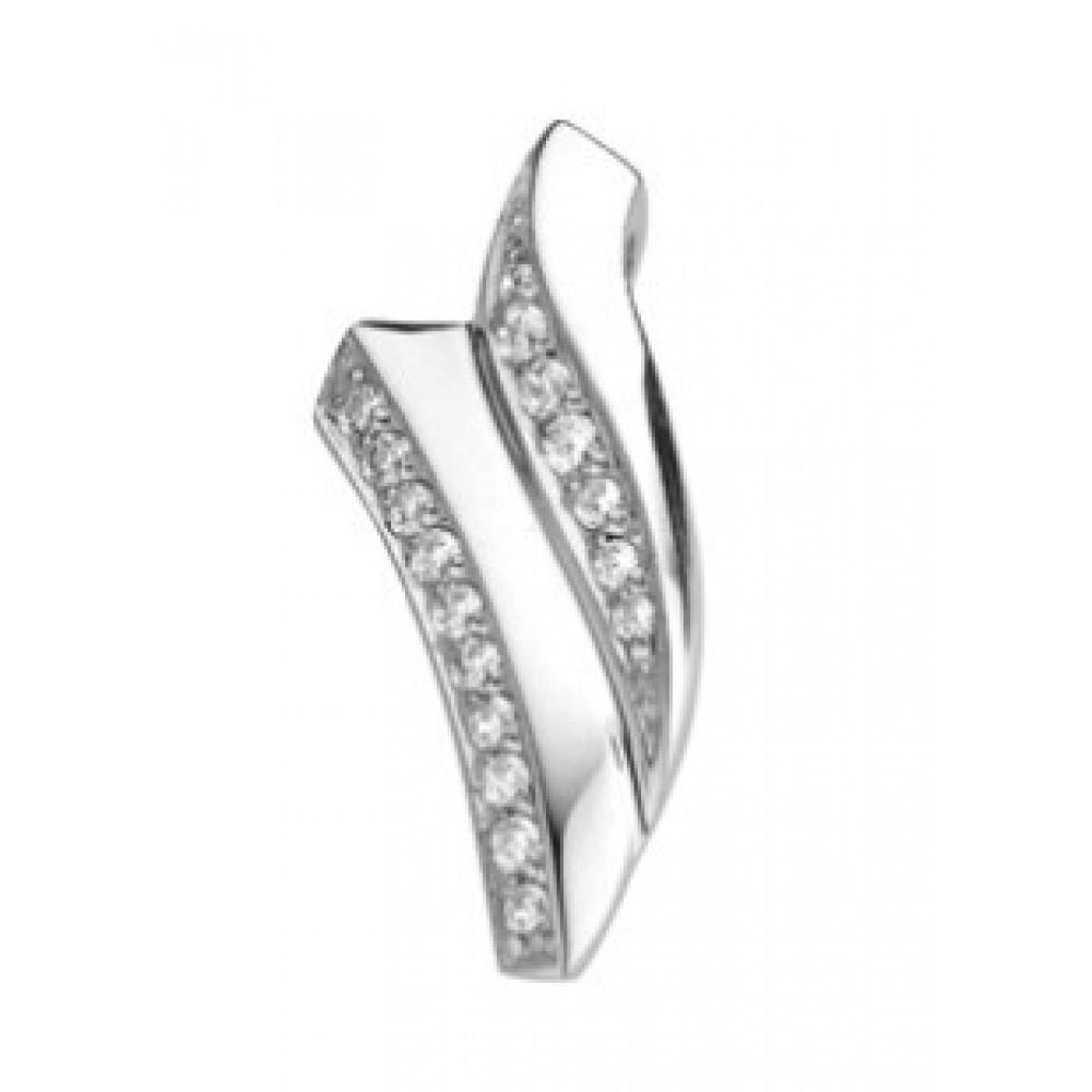 Zilveren dames fantasie hanger 613560042