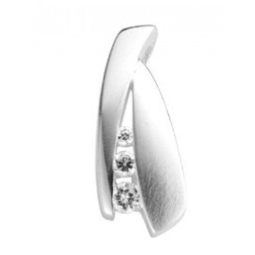 Zilveren dames fantasie hanger 613560043