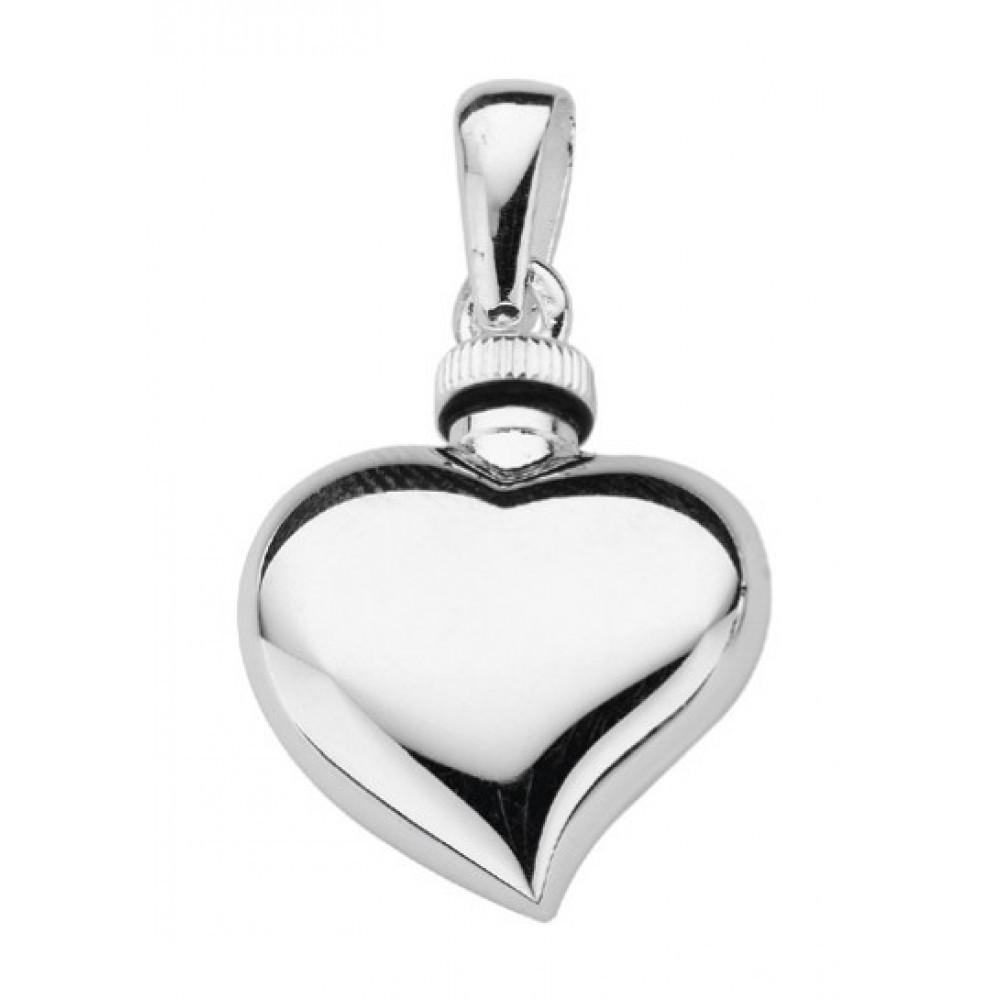 Zilveren urnhanger 22mm 614010012