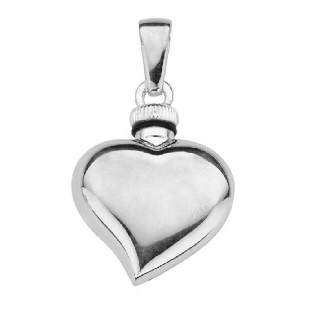 Zilveren urnhanger 22mm 614010013