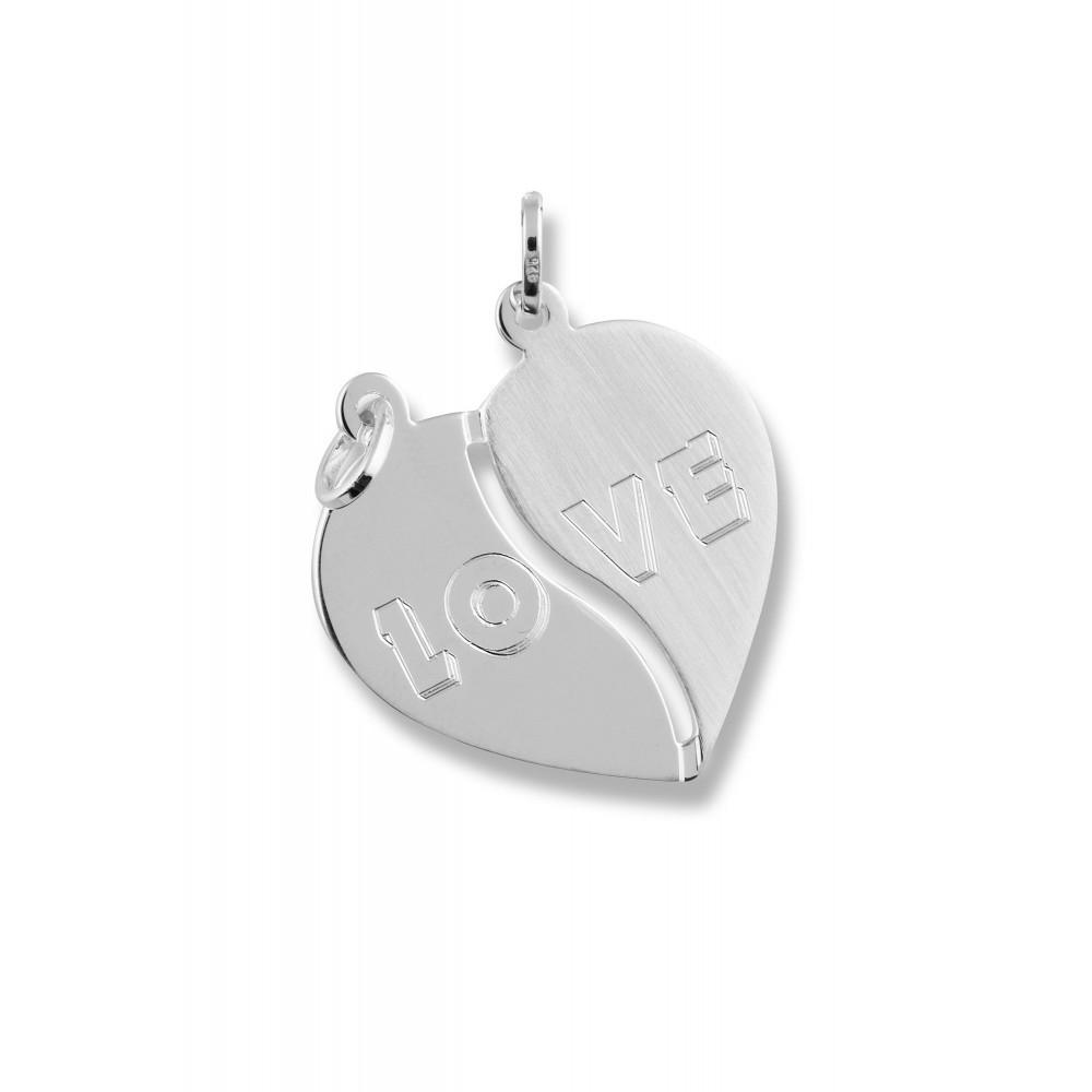 Zilveren breekhart 614650106