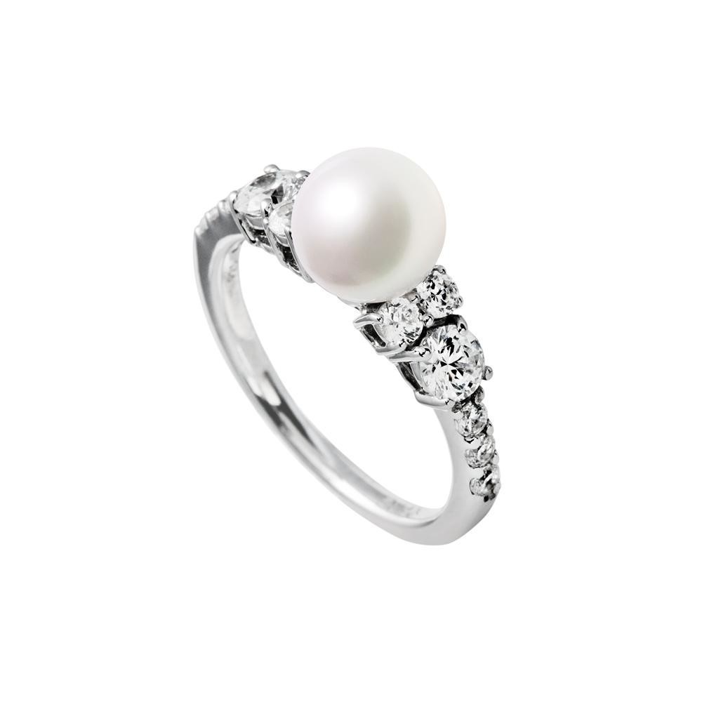 Zilveren ring Pearls 814.0203