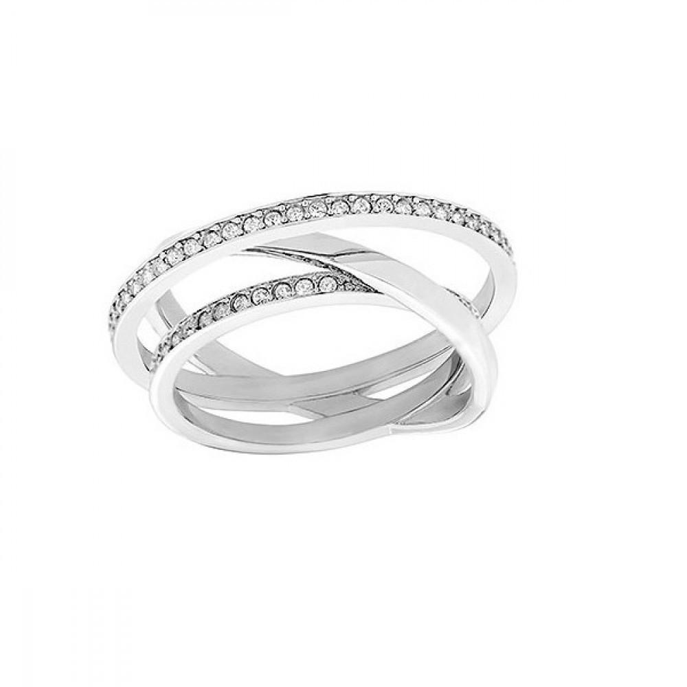 Zilverkleurige damesring 5071169