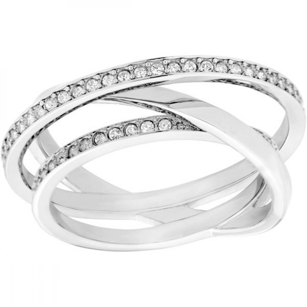 Zilverkleurige damesring 5095308