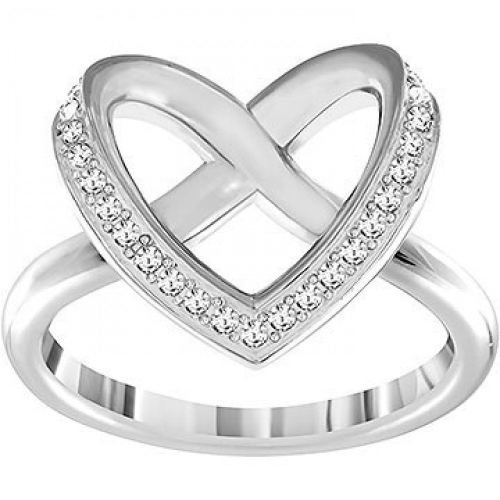 Zilverkleurige Cupidon ring 5119333