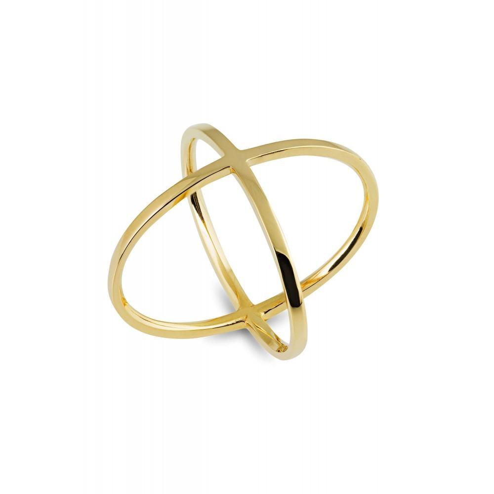 Geelgouden ring LYK13