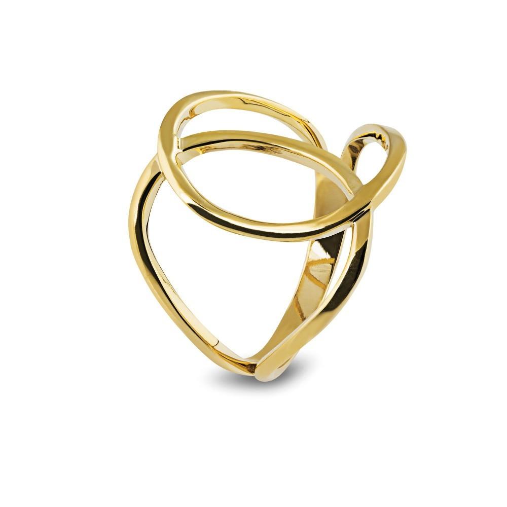 Geelgouden ring LYK25
